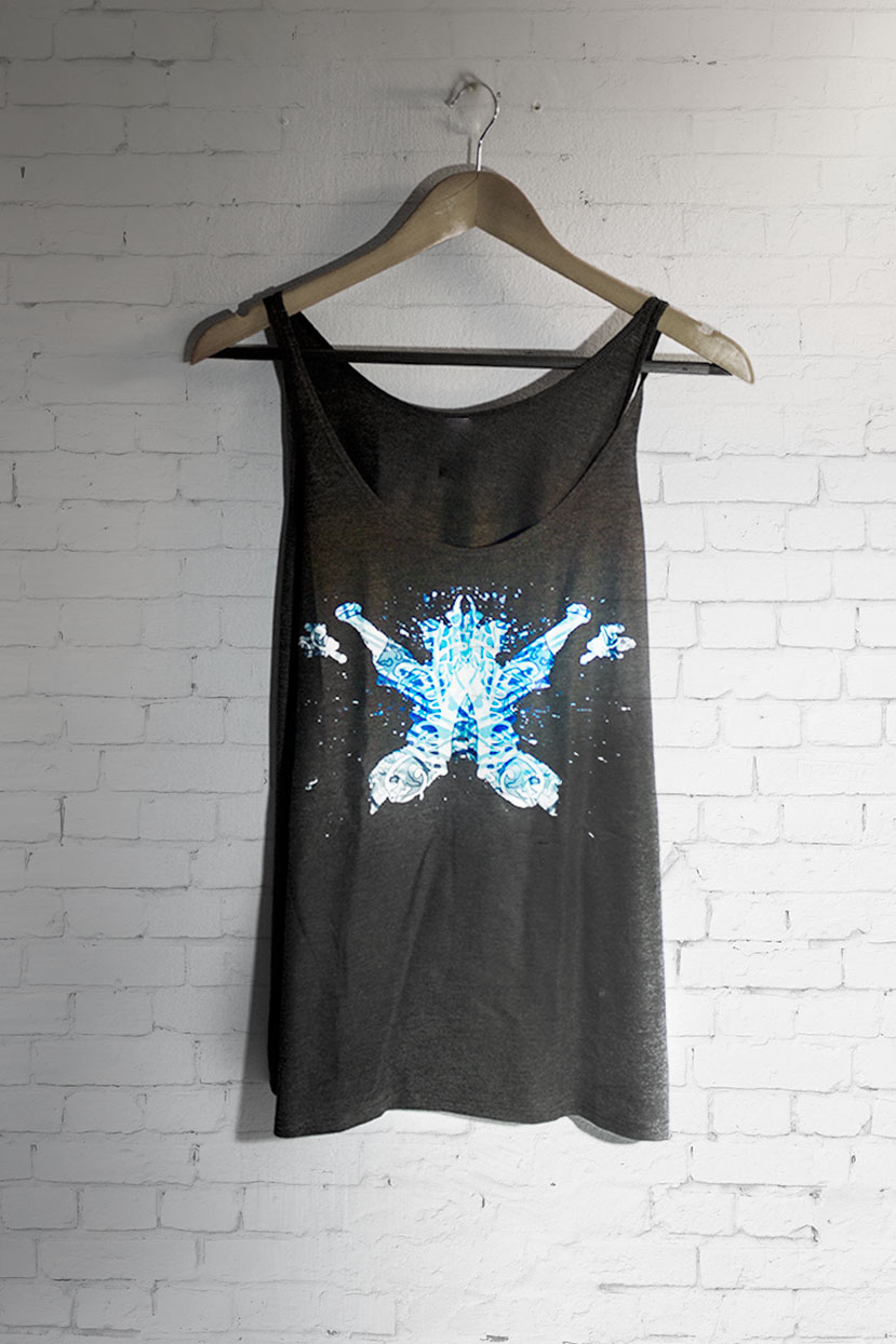 Rorschach Test Mental Health Tank Top