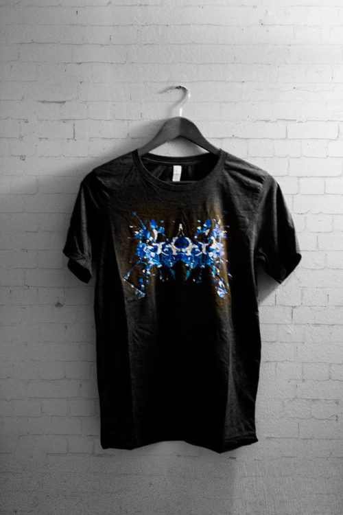 Rorschach test mental health t-shirt