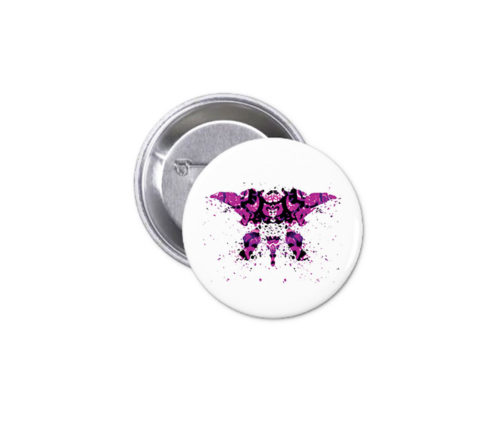 Button - Purple Ink 13