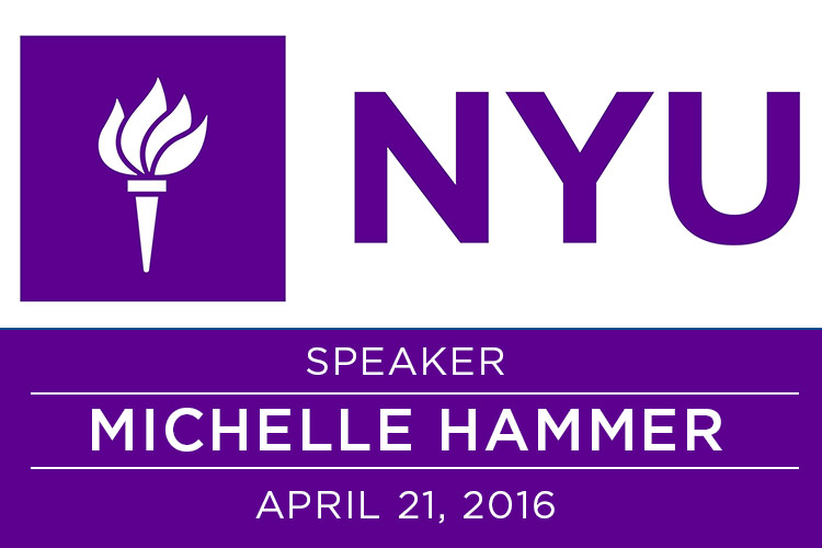 I Will Be Speaking at NYU! 1