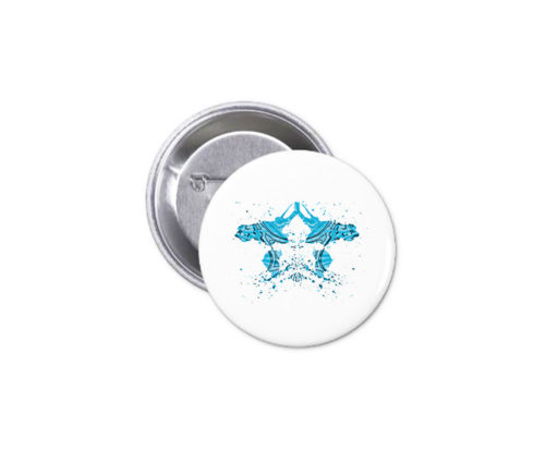 Button - Turquoise Ink 25
