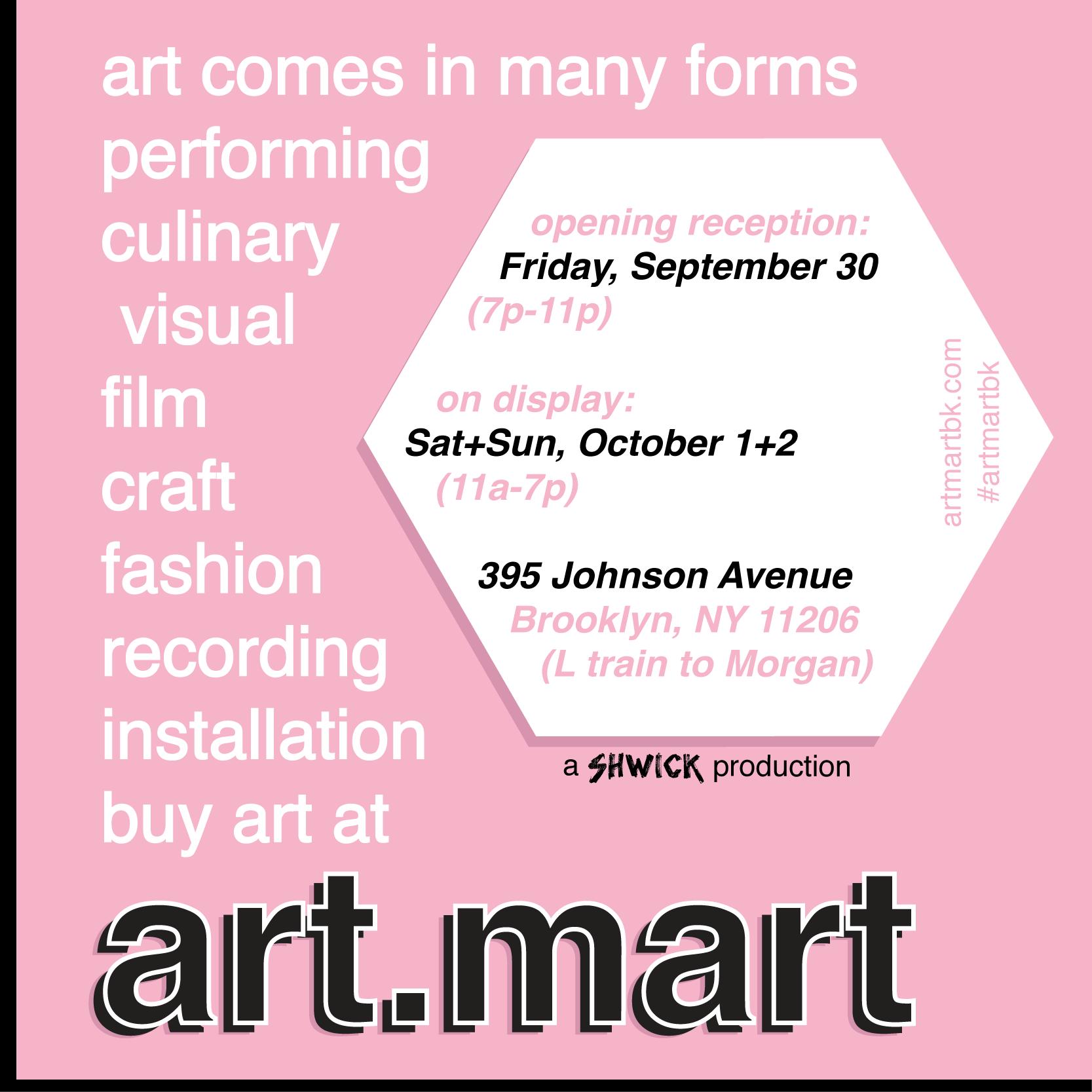 Find me at Art.Mart.BK! 11