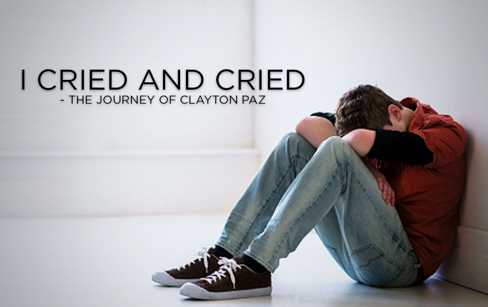 """I cried and cried."" – The Journey of Clayton Paz, Schizophrenic.NYC Mental Health Clothing Brand"