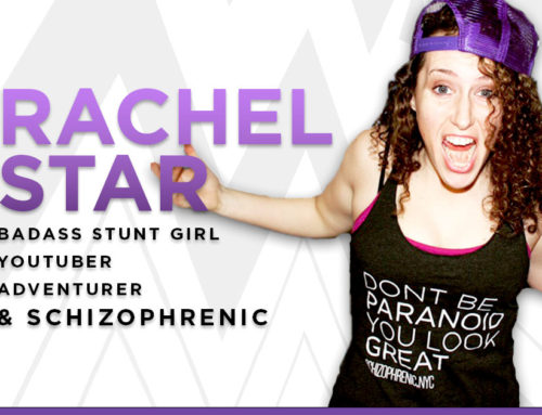 Rachel Star Badass Stunt Girl YouTuber Adventurer & Schizophrenic