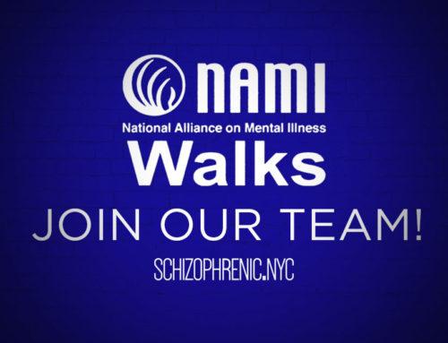 Join the Schizophrenic.NYC NAMIWalks Team
