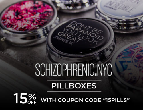 Schizophrenic.NYC Pillboxes Restocked with a 15% Discount!