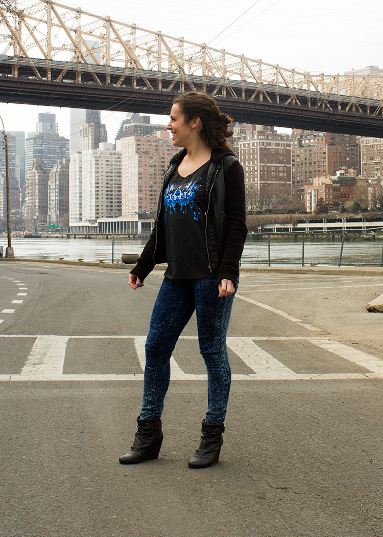 New Yorker Michelle P. in the Blue Ink Tank! 5