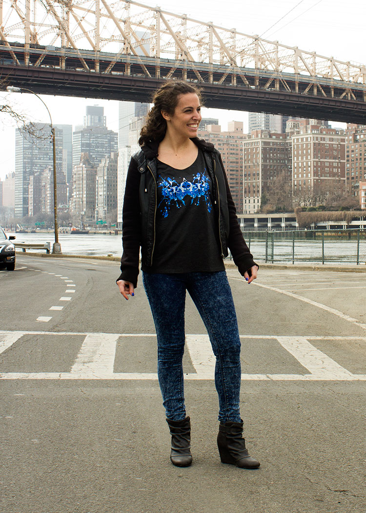 New Yorker Michelle P. in the Blue Ink Tank! 4