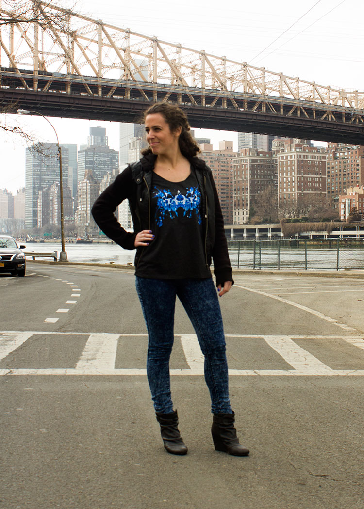 New Yorker Michelle P. in the Blue Ink Tank! 3
