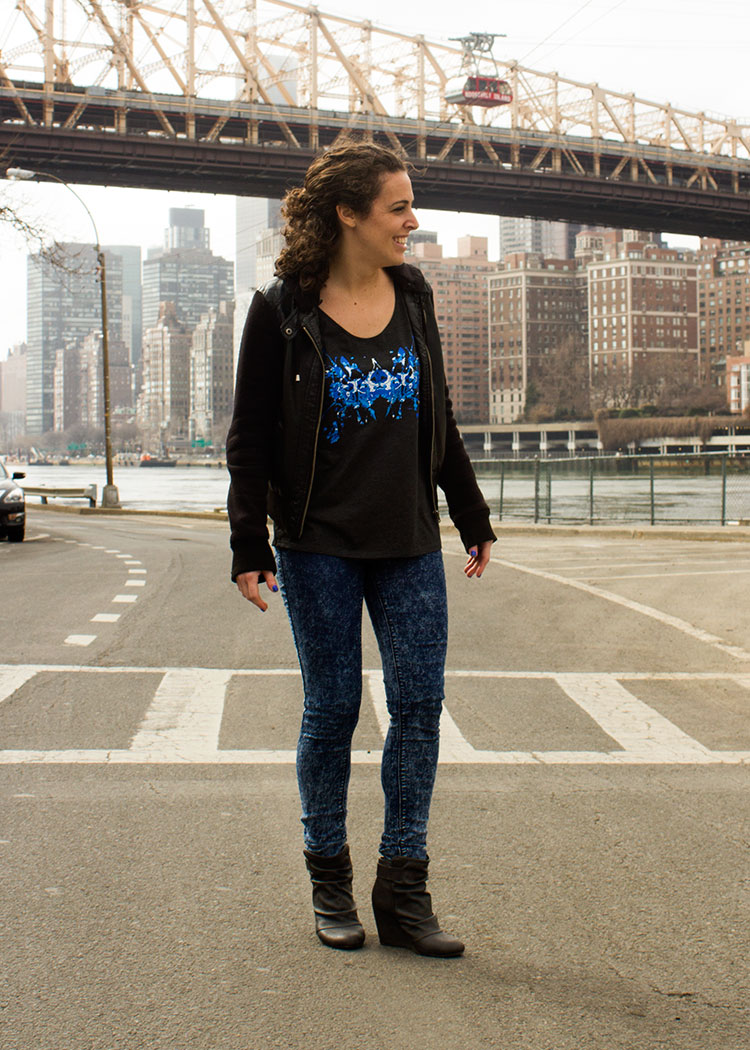 New Yorker Michelle P. in the Blue Ink Tank! 1