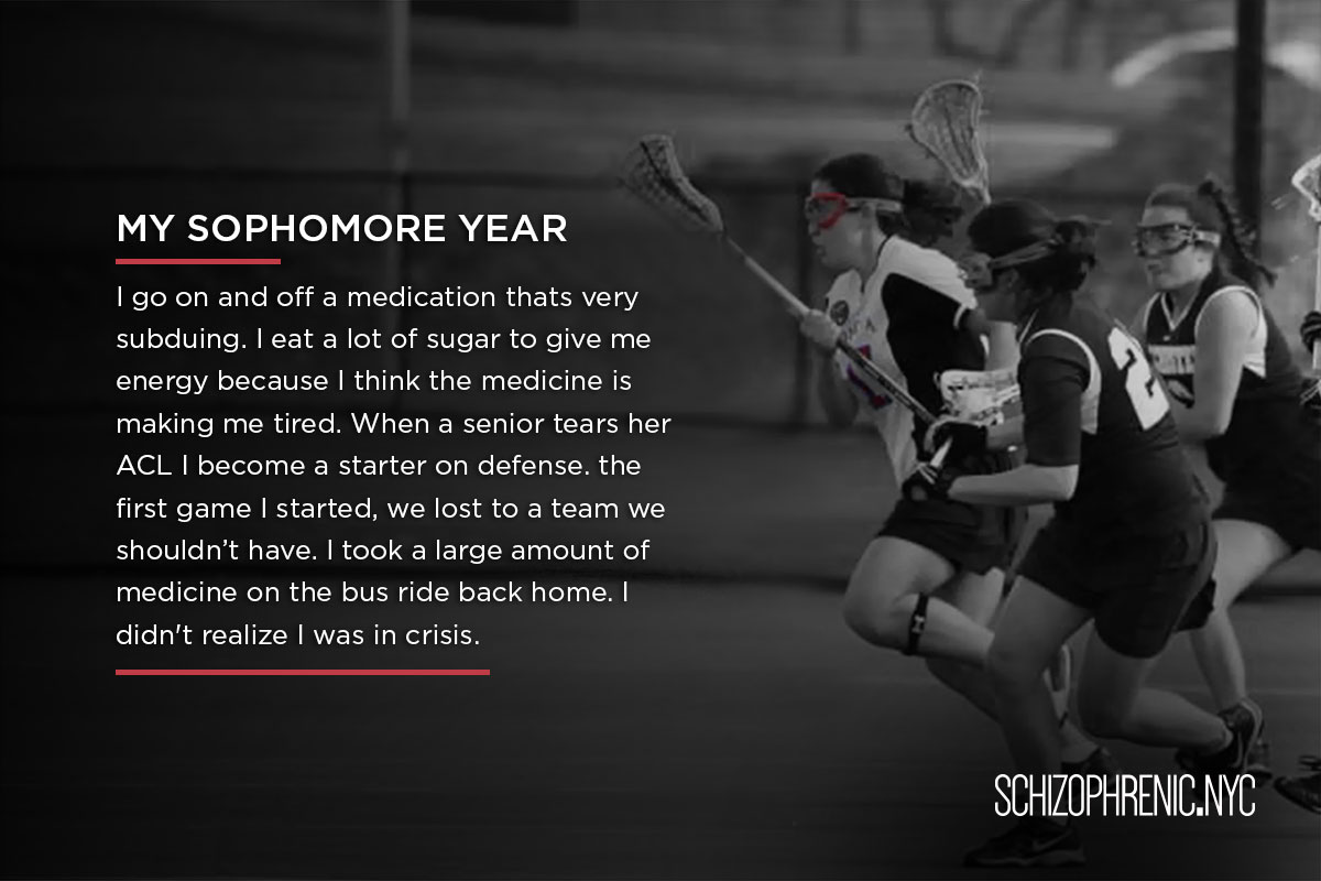 How the sport of Lacrosse saved my Life, Schizophrenic.NYC Mental Health Clothing Brand