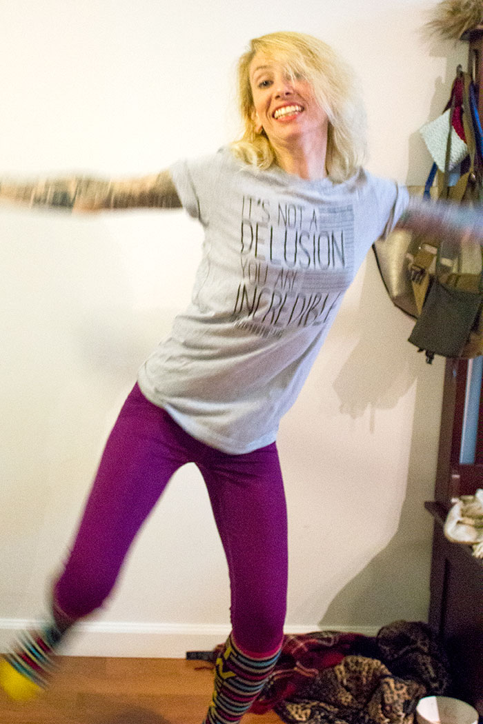 , Photo Shoots with Hallie are hilarious…we didn't even clean up., Schizophrenic.NYC Mental Health Clothing Brand, Schizophrenic.NYC Mental Health Clothing Brand