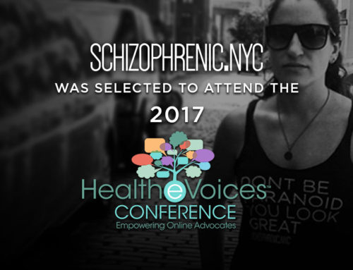 Schizophrenic.NYC will be at HealTheVoices2017!
