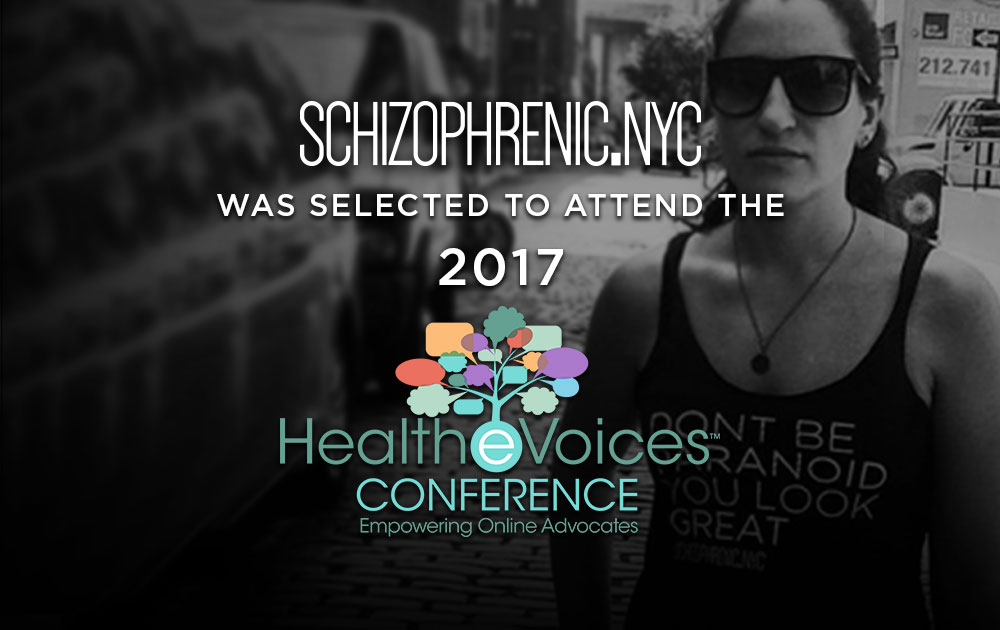 Schizophrenic.NYC will be at HealTheVoices2017! 1