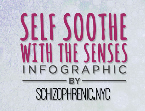 Self Soothe with the Five Senses Infographic