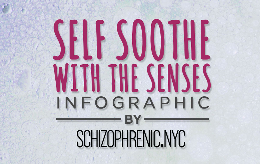 Self Soothe with the Five Senses Infographic 6