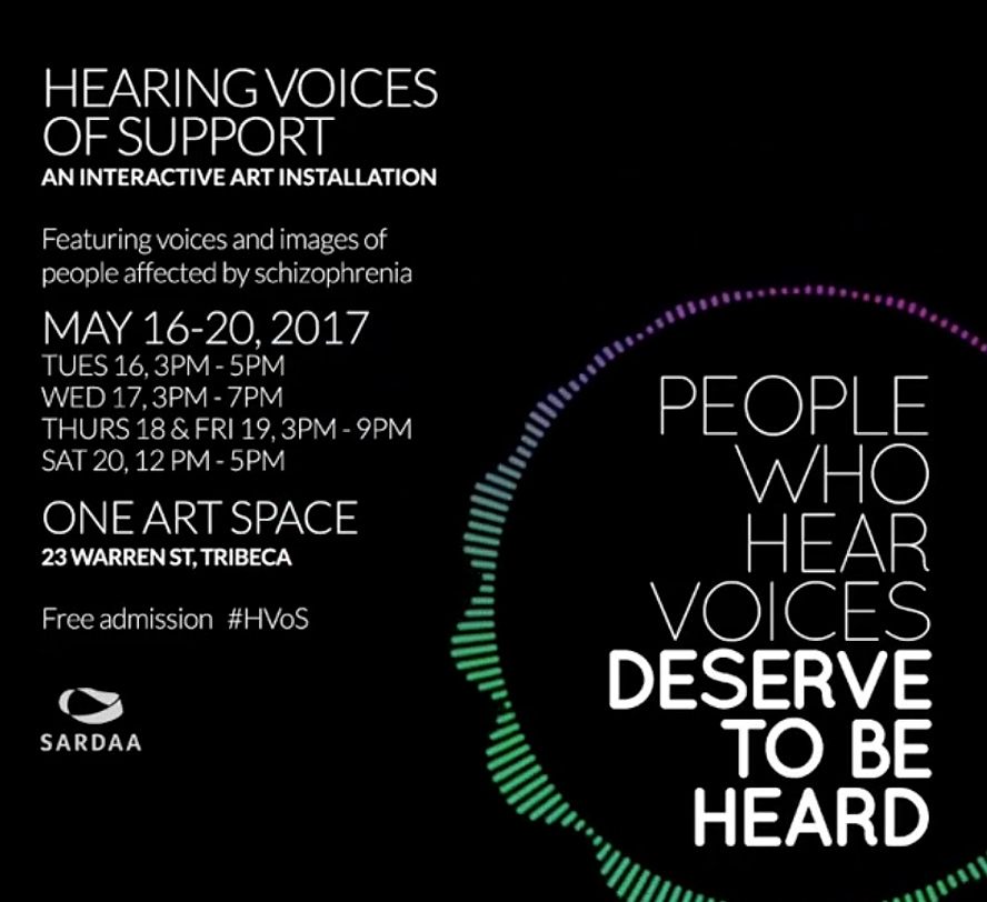 Schizophrenic.NYC will be Selling Art at Hearing Voices of Support | May, 18 - 19 7
