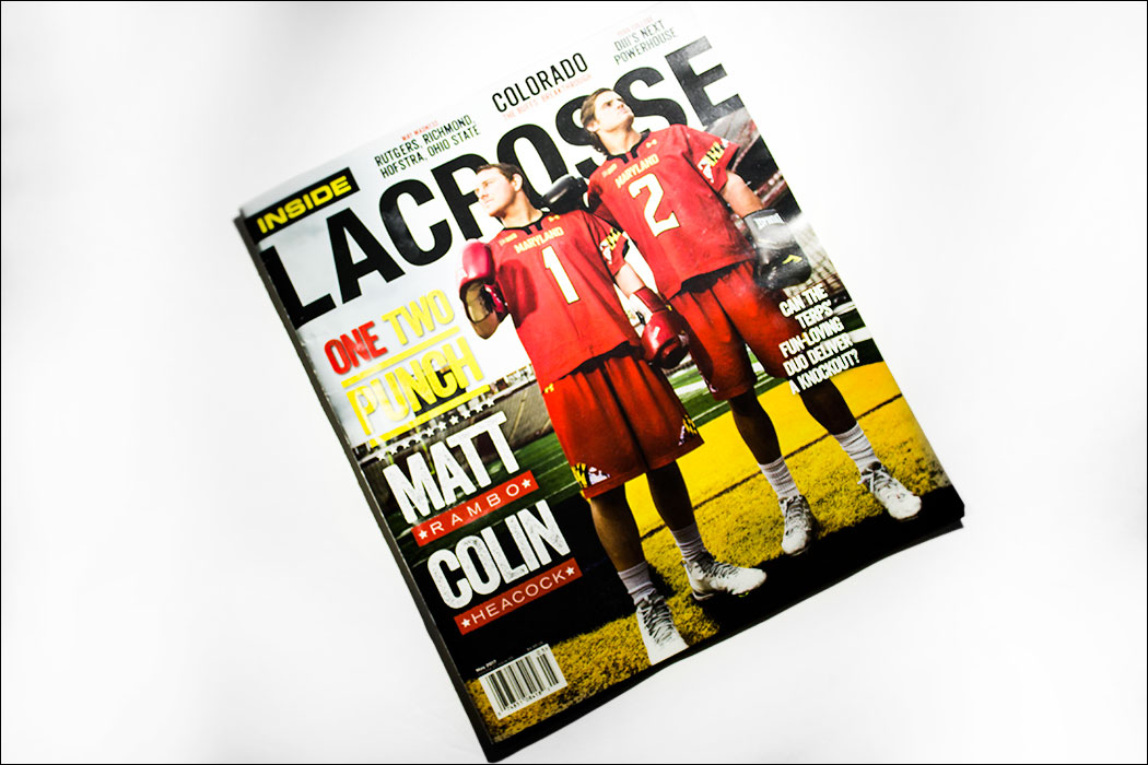 Schizophrenic.NYC Featured in Inside Lacrosse Magazine! 2