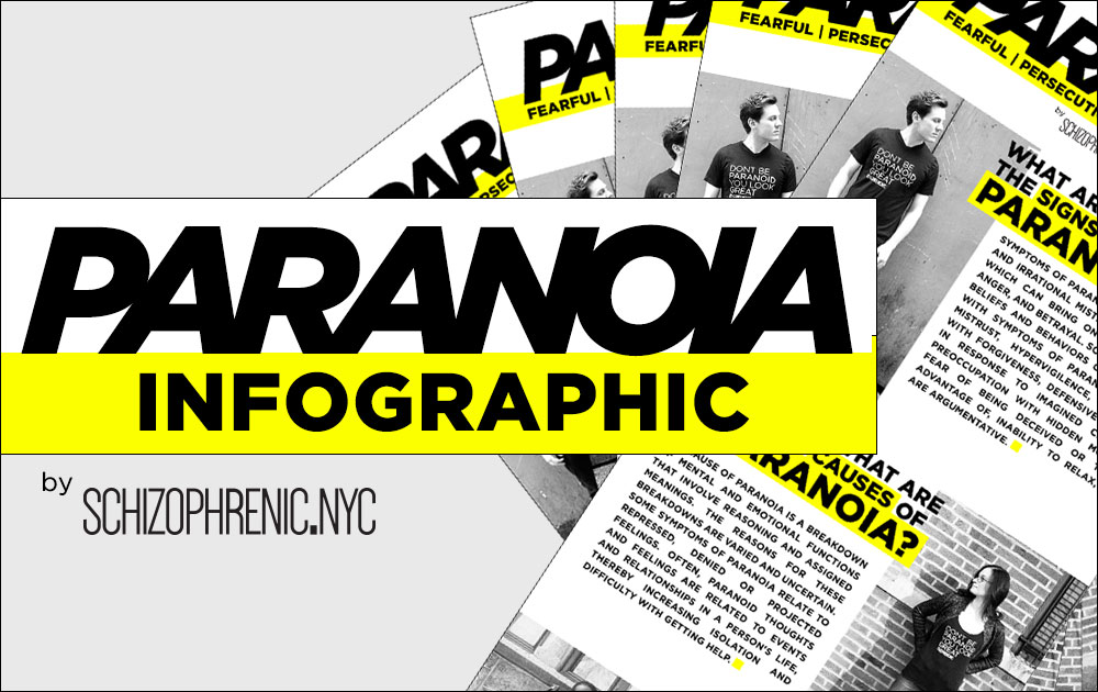 Paranoia Infographic by Schizophrenic.NYC 5