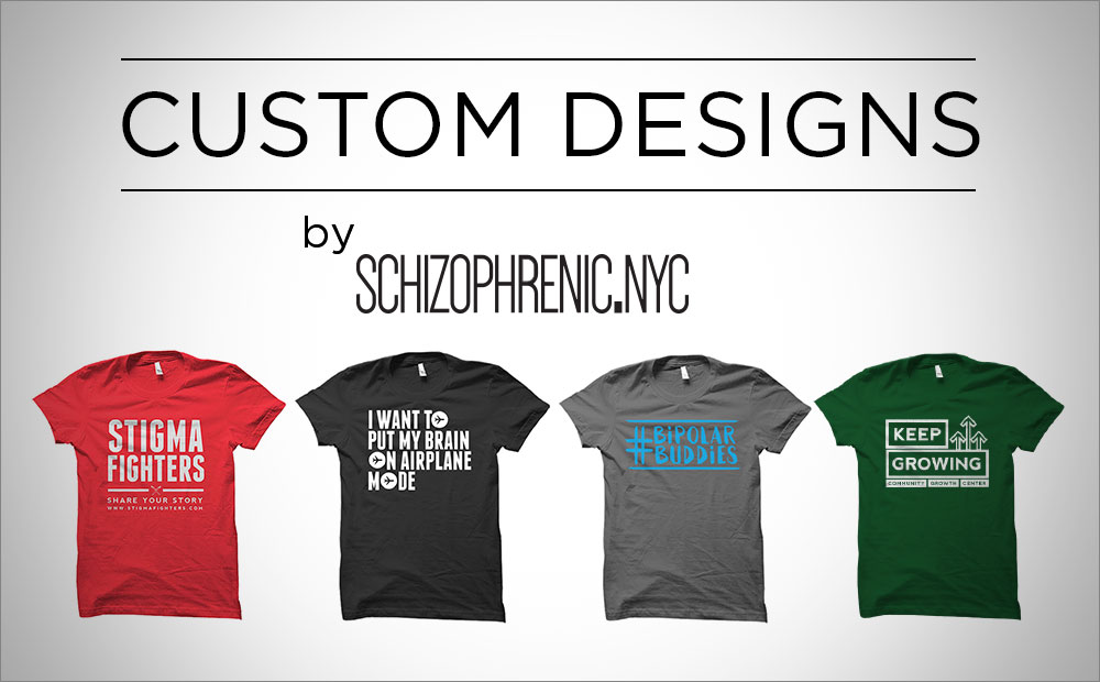Custom designs by schizophrenic. Nyc 2