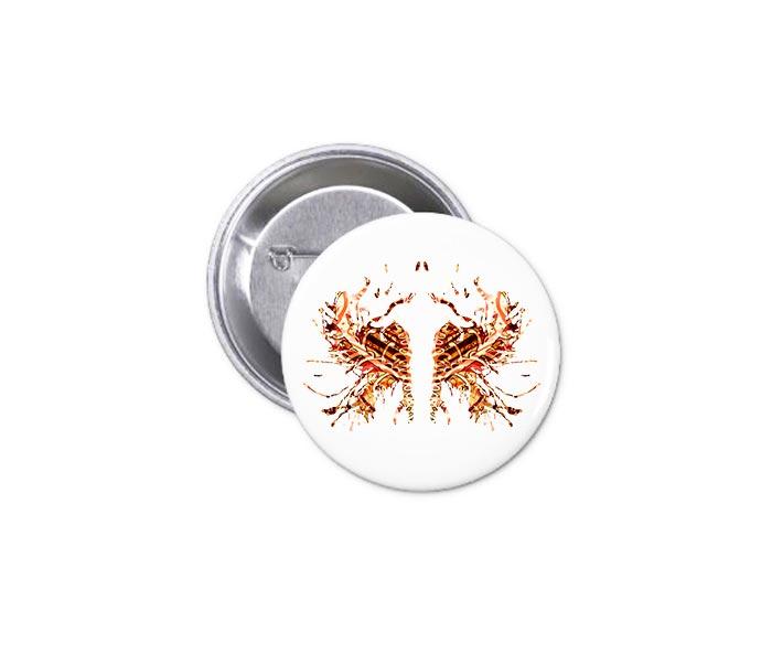 Button - Fire Ink 1