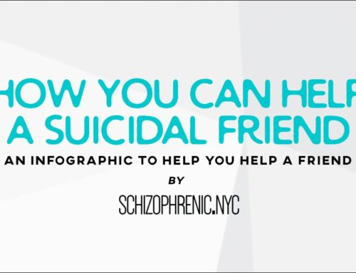 How You Can Help A Suicidal Friend Infographic