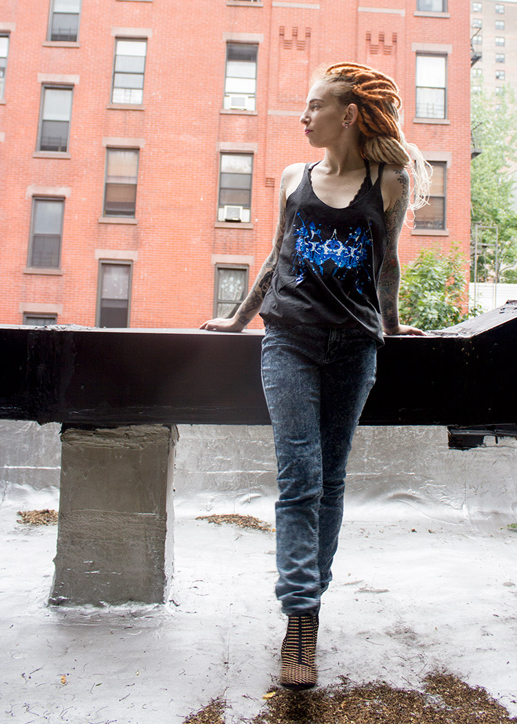 , Mentally ill or not, we all think differently – Photoshoot with Hallie Kruger., Schizophrenic.NYC Mental Health Clothing Brand, Schizophrenic.NYC Mental Health Clothing Brand