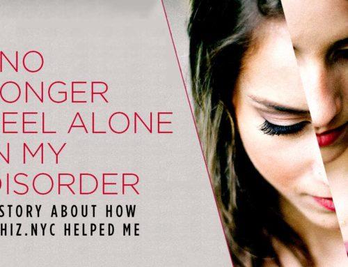 I No Longer Feel Alone In My Disorder