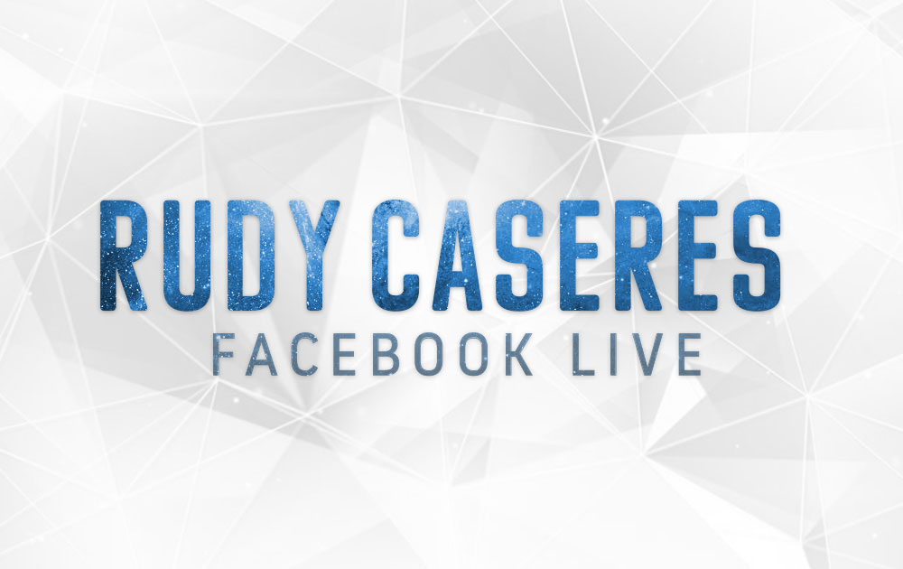 Facebook Live with Rudy Caseres 12