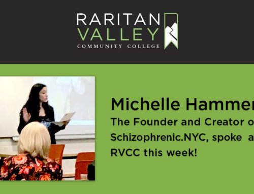 Michelle spoke at Raritan Valley Community College