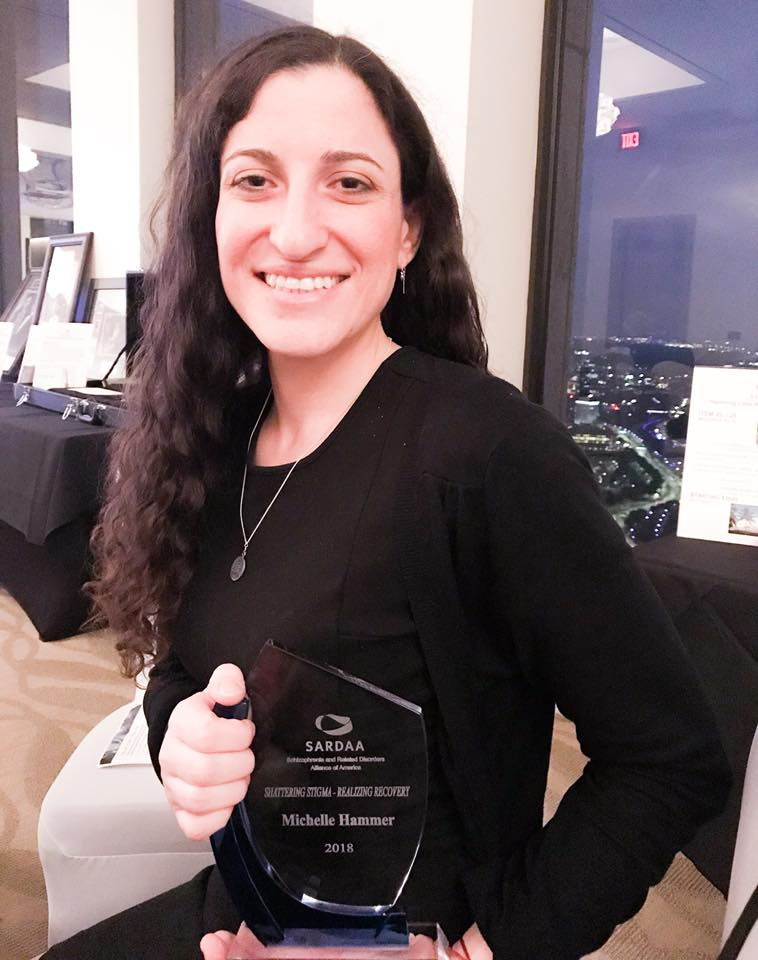 Michelle earned the Shattering Stigma Award from SARDAA 2
