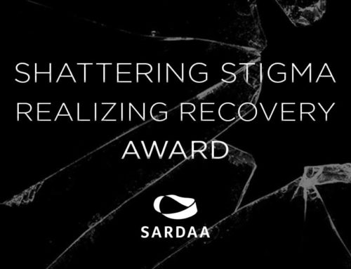Michelle earned the Shattering Stigma Award from SARDAA
