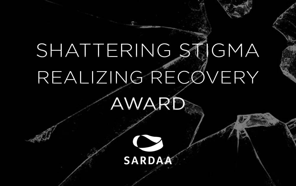 Michelle earned the Shattering Stigma Award from SARDAA 1