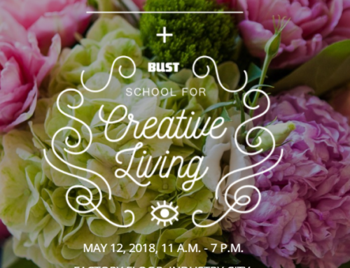We will be at BUST Craftacular Saturday, May 12th