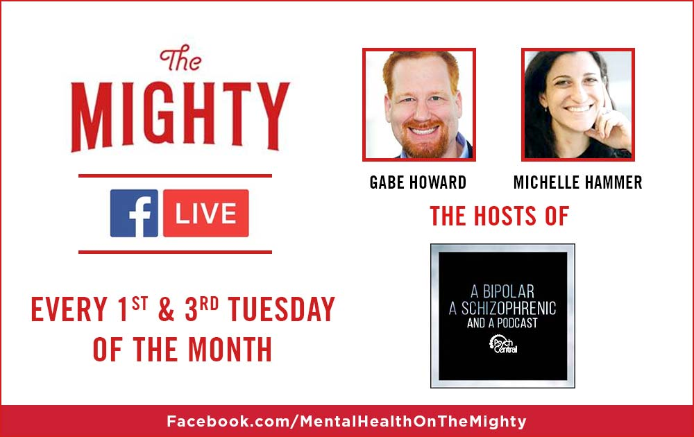 Michelle & Gabe have a LIVE SHOW on TheMighty! 9