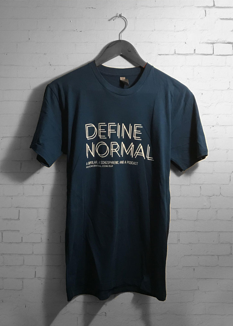 Define normal mental health t-shirt
