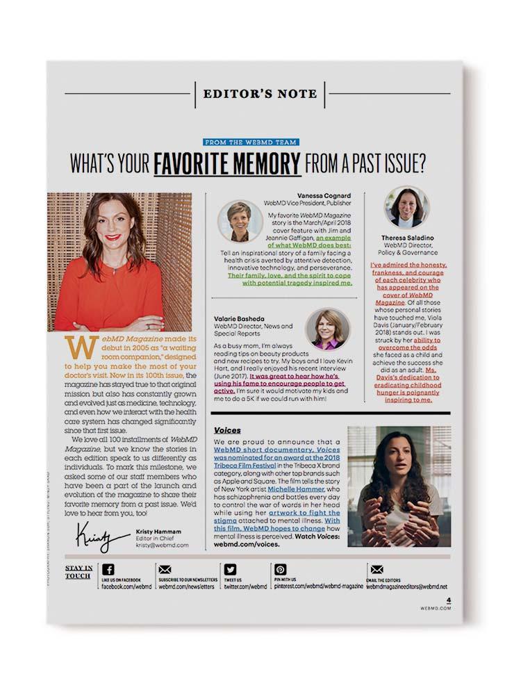 , Michelle in WebMD Magazine!, Schizophrenic.NYC Mental Health Clothing Brand, Schizophrenic.NYC Mental Health Clothing Brand