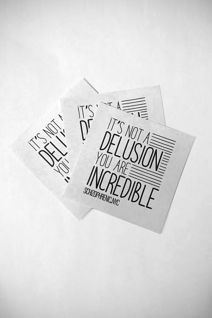 It's not a delusion, you are incredible - stickers 5
