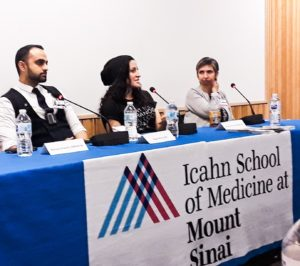 Speaking about Schizophrenia at Mt. Sinai Hospital 2