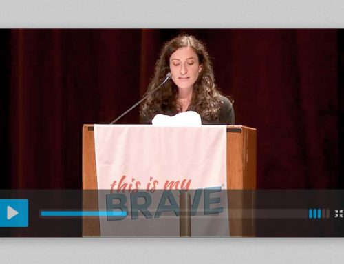 "Speech about Living with and ""Recovering"" from Schizophrenia at This is My Brave – NYC"