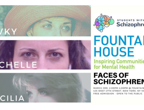 Faces Of Schizophrenia – Hosted by Students With Schizophrenia