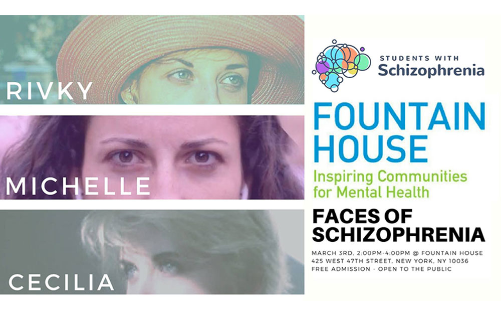 Faces Of Schizophrenia - Hosted by Students With Schizophrenia 24