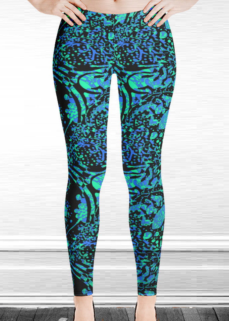 "Michelle's ""silence"" print leggings 30"