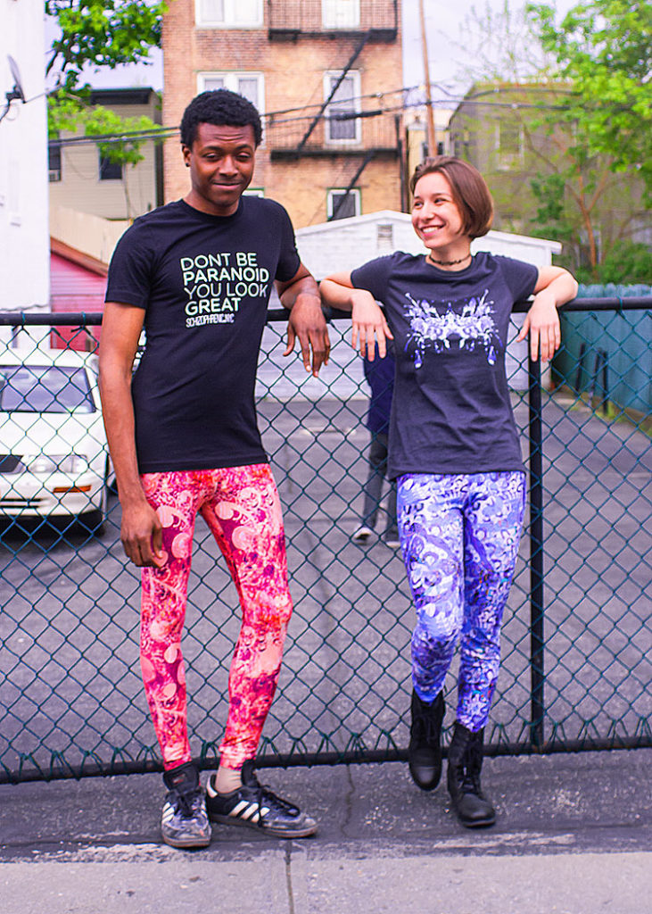 , Amazing Photoshoot With Melissa and Ann/Drew, Schizophrenic.NYC Mental Health Clothing Brand, Schizophrenic.NYC Mental Health Clothing Brand