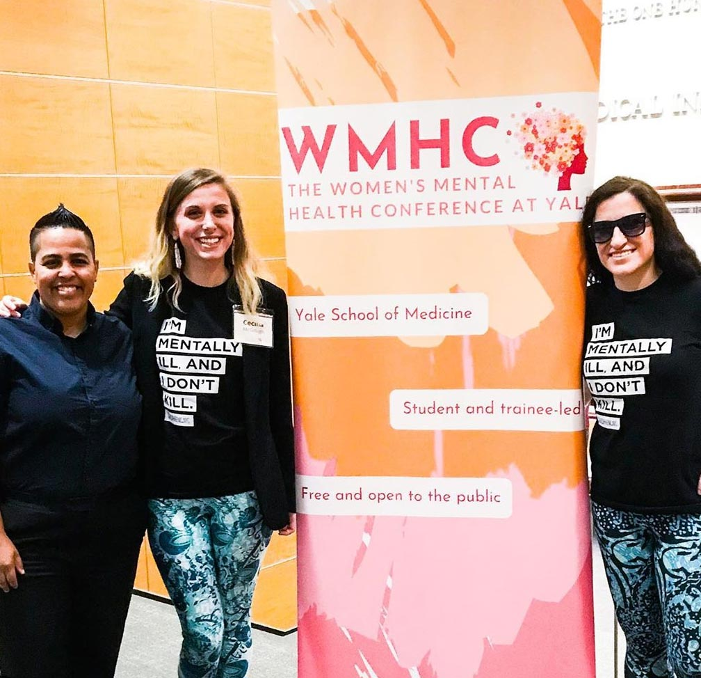 The Women's Mental Health Conference at Yale, Schizophrenic.NYC Mental Health Clothing Brand