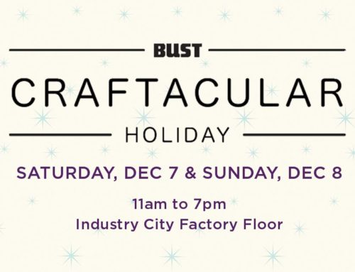 Schizophrenic.NYC Will Be At Bust Craftacular