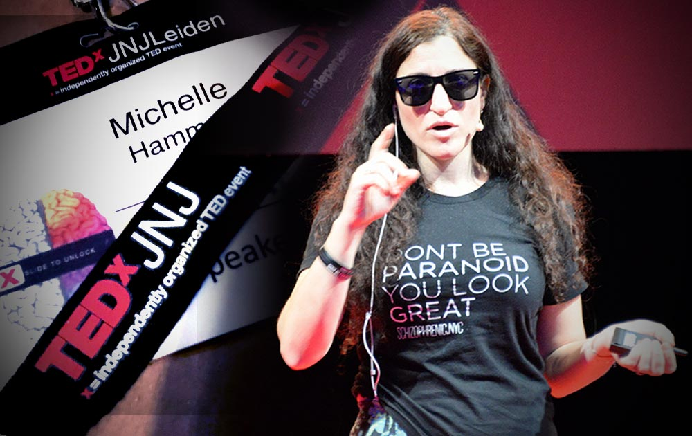 Michelle of Schizophrenic.NYC Did A Tedx Talk!, Schizophrenic.NYC Mental Health Clothing Brand