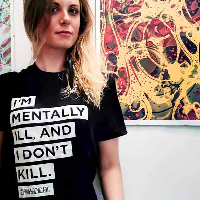 Schizophrenic.NYC Ambassador, Ambassadors, Schizophrenic.NYC Mental Health Clothing Brand, Schizophrenic.NYC Mental Health Clothing Brand