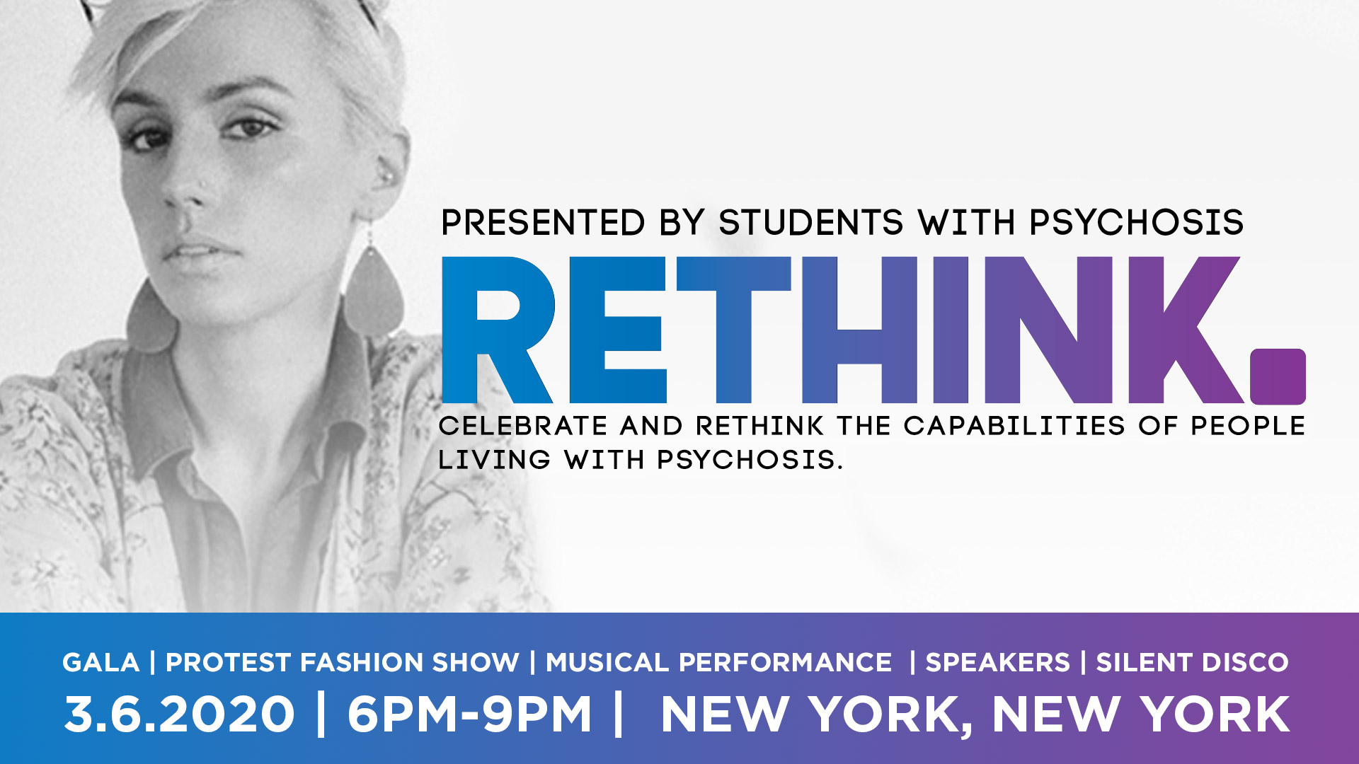Protest Fashion Show at Rethink Gala with Schizophrenic.NYC 1