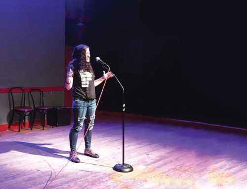 Michelle Performed at the Peoples Improv Theater